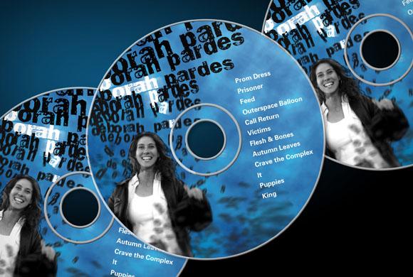 Deborah Pardes CD Packaging